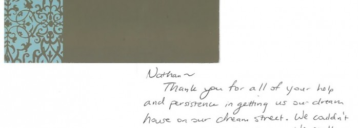 More Reviews and Thank You Cards