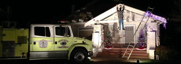 Fab 40's Christmas Lights
