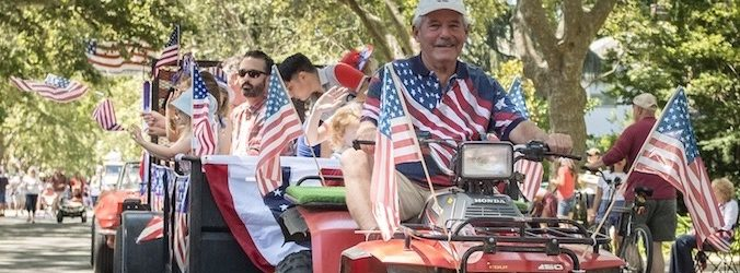 East Sac Fab 40's 4th Of July Parade 2019